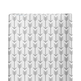 Changing Pad Cover- Grey Arrows