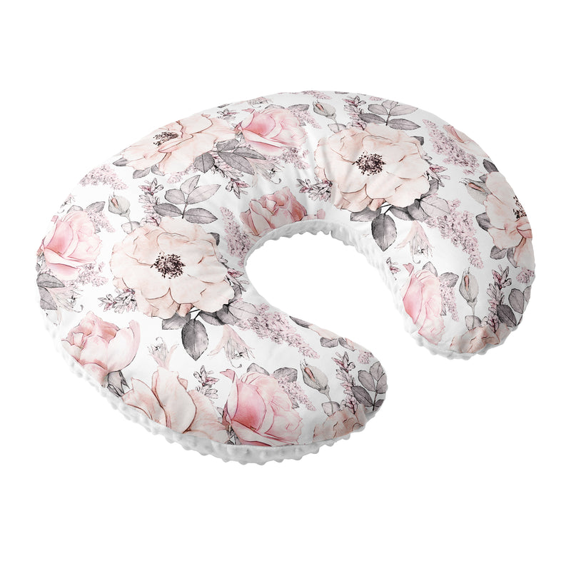 Nursing Pillow Cover  Peonies