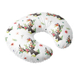 Nursing Pillow Cover Floral deer