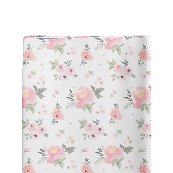 Changing Pad Cover - Floral