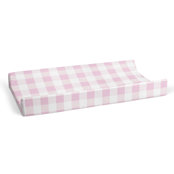 Changing Pad Cover - Pink Plaid