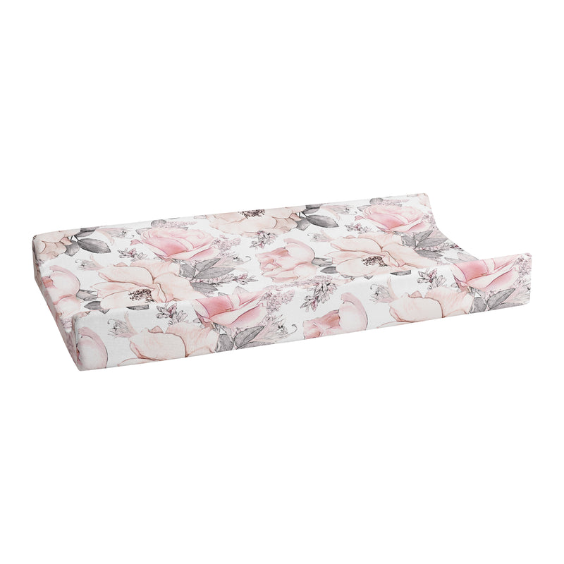 Changing Pad Cover Peonies