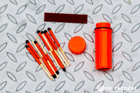 MOS MINI STORMPROOF MATCH KIT-12 MATCHES
