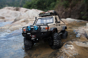Toyota Land Cruiser 70 Hard Body Kit Fit for Traxxas TRX4 chassis