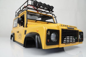 1/10 Land Rover Defender 90  Hard Body Kit DIY Version( Fit for Axial SCX10 RC4WD )