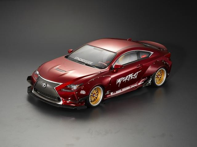 Wide Body Full Kit (1/10 KB Lexus RC F)( PRE-ORDER)