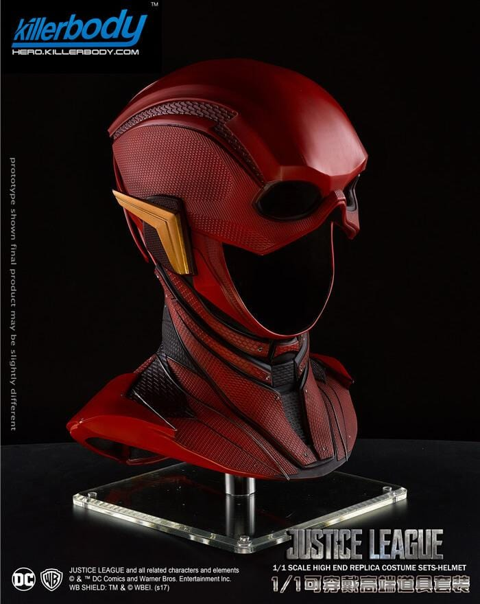 1:1 Wearable Blitzmann Helmet Justice League