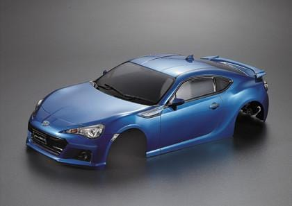 Subaru BRZ Metallic-blue (Printed)