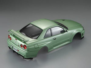 Killerbody 1/10 48646 NISSAN SKYLINE (BNR34)  Finished Body Champagne-green(Only one in stock)