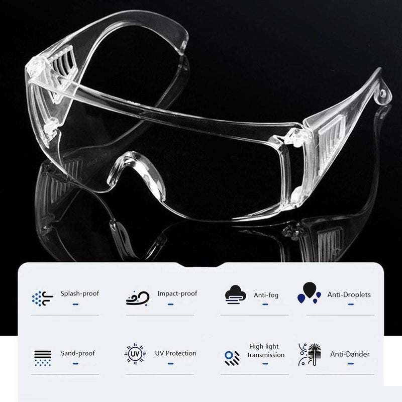 Killerbody Safety Personal Protective Glasses Splash-proof Sand-proof Impact-proof UV Protection Anti-fog Glasses