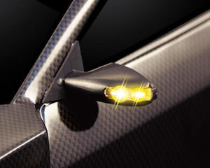Wing Mirror W/LED Unit Set