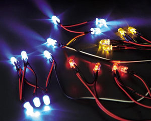 LED Light System w/Control Box (10 LEDS) ( Fit for 1/10 RC Car)