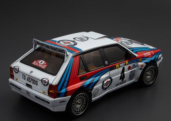 Killerbody 1/10 48248 RC PC Lancia Delta HF Integrale Finished Body Rally-racing (Printed)(Pre-order)