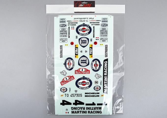 Rally Racing Decal Sheet