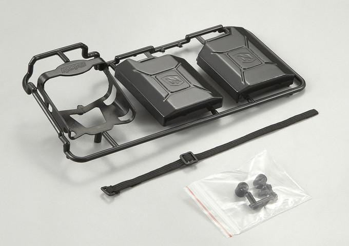 Black Plastic Jerry Can Set