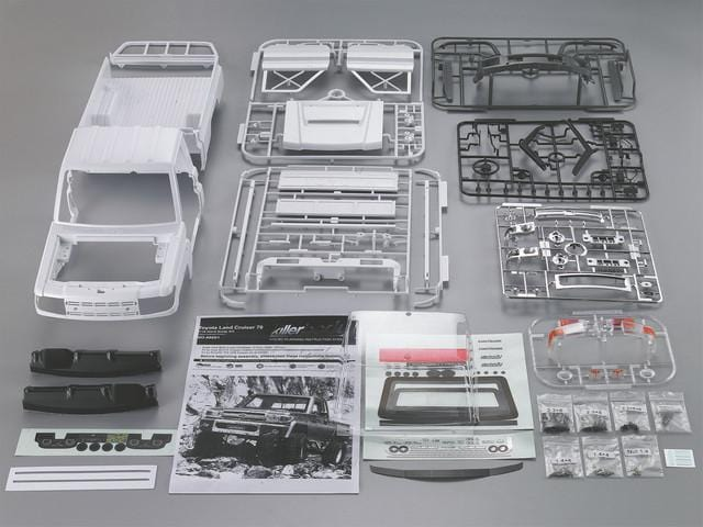 1/10 Toyota Land Cruiser 70 Hard Body Kit ( LC70)