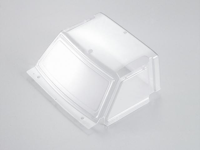 Transparent Window Windshield  1/10 Toyota Land Cruiser 70