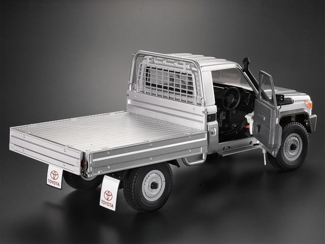 Movable Door & Lifter Window Fit for 1/10 Toyota Land Cruiser 70 Hard Body