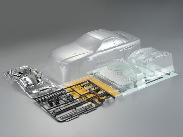 Killerbody 1/10 48626 NISSAN SKYLINE (BNR34) CLEAR PC Body