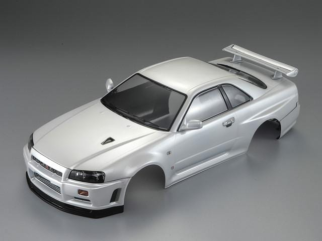 Killerbody 1/10 48644 NISSAN SKYLINE (BNR34)  Finished Body Pearl-white