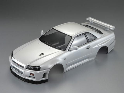 1/10 NISSAN SKYLINE (R34)  Finished Body Pearl-white