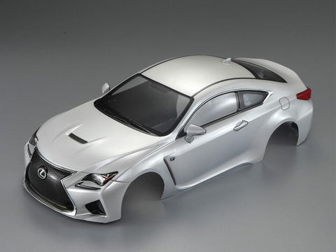 1/10 LEXUS RC F Finished Body Pearl-white