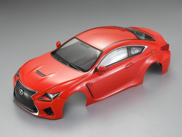 1/10 LEXUS RC F Finished Body Orange