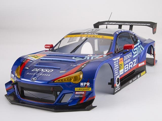 SUBARU BRZ R&D SPORT   Clear Body