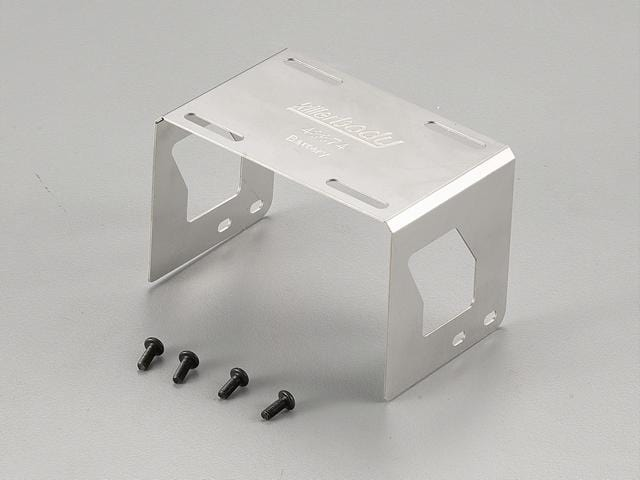 Battery Holder Stainless Steel  Fit for Axial SCX10 Chassis
