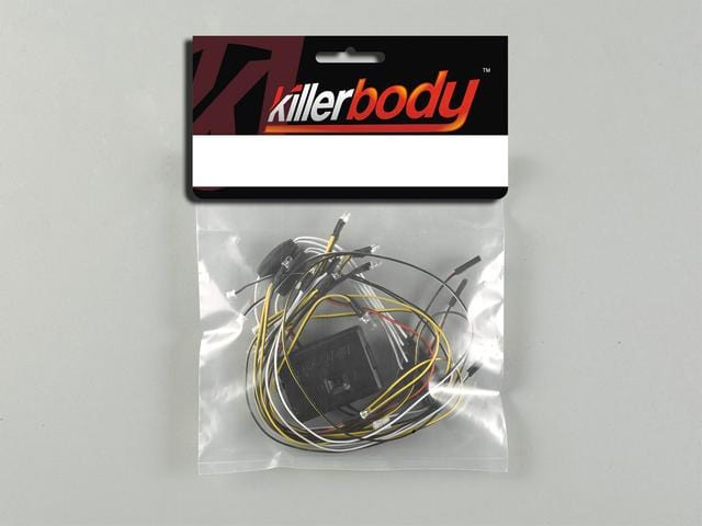 LED Unit Set w/Control Box 13 LEDS( Fit for KB 1/10 Nissan Skyline 2000 Turbo GT-ES (C211))