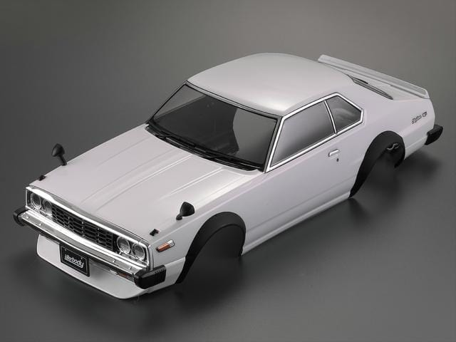1977 Skyline Hardtop 2000 GT-ES Finished Body White (Printed)( Only 1 in stock)