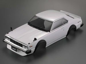 1977 Skyline Hardtop 2000 GT-ES Finished Body White (Printed)