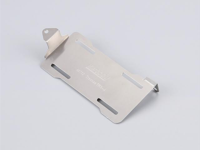 Battery Holder Stainless Steel (Rear battery)