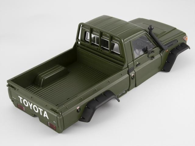 1/10 Toyota Land Cruiser 70 Hard Body Kit( LC70) Fit for Traxxas TRX4 Matte military green (painted)