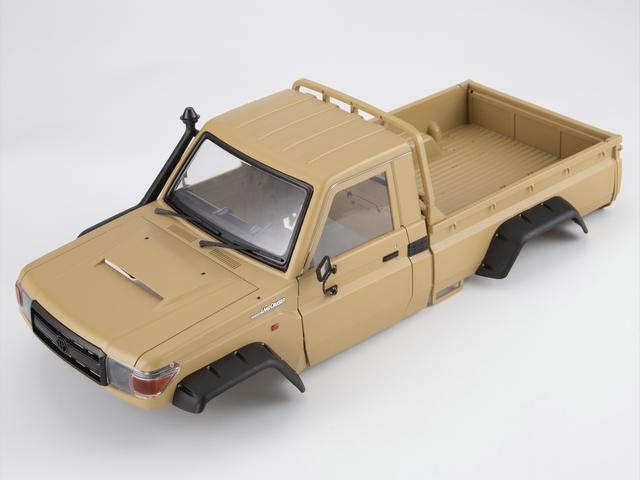 1/10 Toyota Land Cruiser 70 Hard Body Kit Fit for Traxxas TRX-4 chassis Matte military desert (painted)