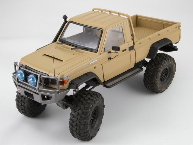 1/10 Toyota Land Cruiser 70 Hard Body Kit  ( LC70) Fit for Traxxas TRX-4 Matte military desert( Pre order)