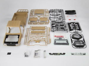 1/10 Toyota Land Cruiser 70 Hard Body Kit  ( LC70) Fit for Traxxas TRX-4 chassis Matte military desert (painted)