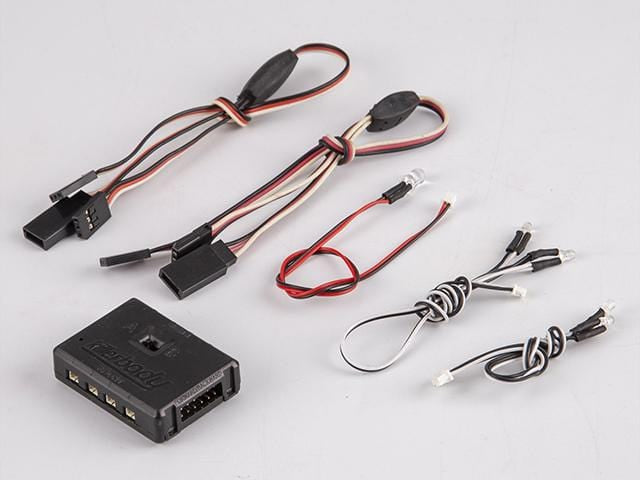 LED Unit Set w/Control Box 5 LEDS (3mm: 4 LEDS; 5mm: 1 LEDS)