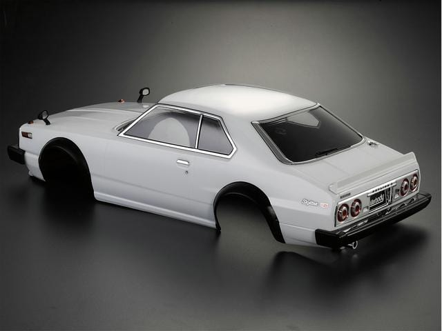 1/10 Nissan Skyline 2000 Turbo GT-ES (C211)  Finished Body White