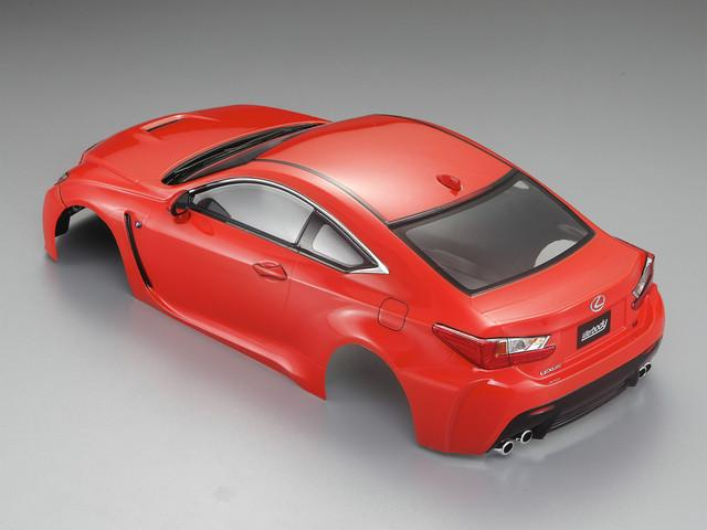 1/10 LEXUS RC F Finished Body Orange( Pre-order)