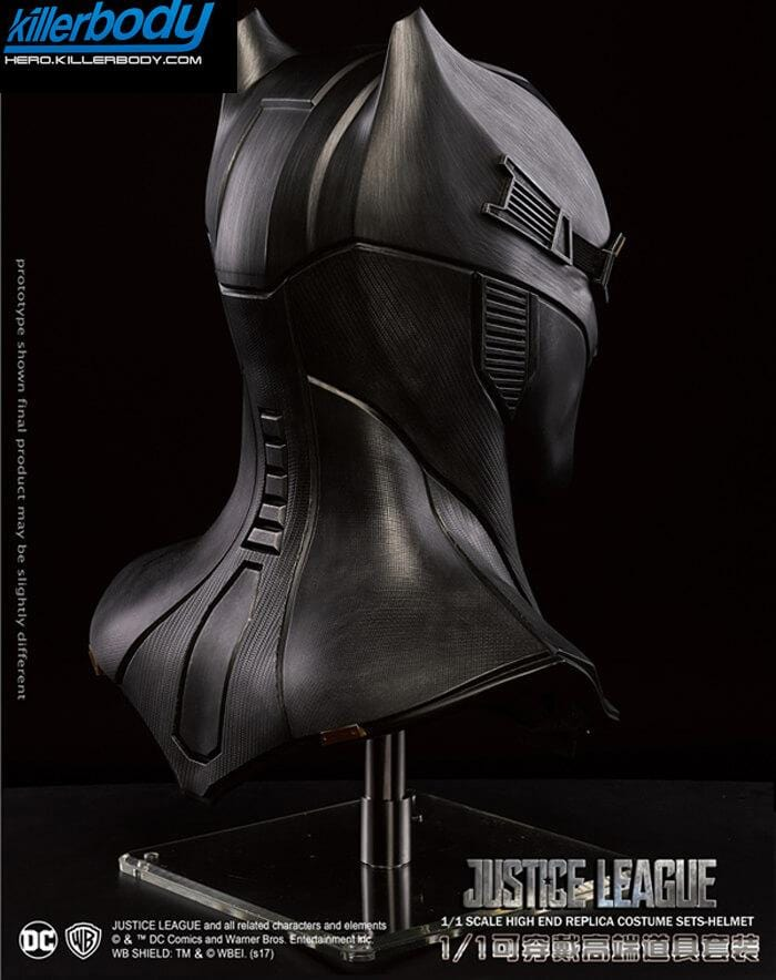 1:1 Wearable Batman Helmet Justice League