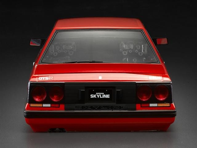 1/10 Nissan Skyline (R31) Finished Body Red