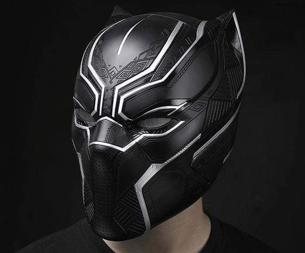 1:1 Wearable Black Panther Collectible Helmet( Pre-order)