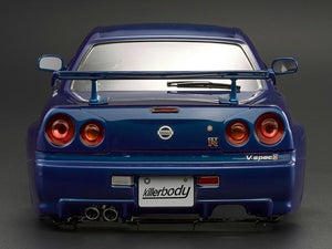 NISSAN SKYLINE (BNR34)  Finished Body Metallic-blue