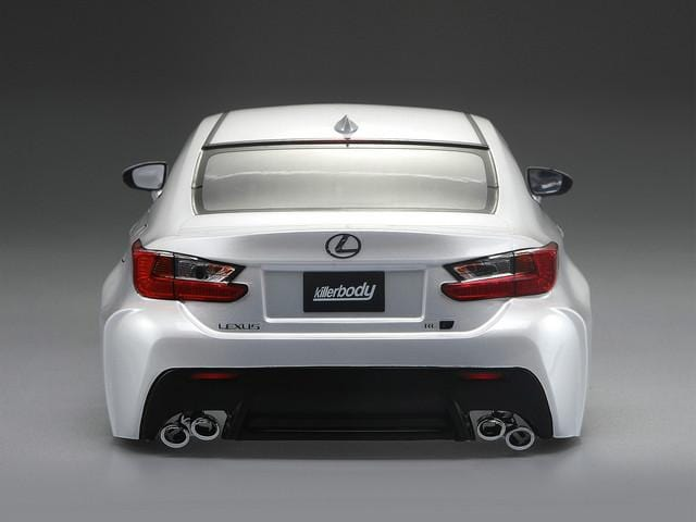 1/10 LEXUS RC F Finished Body Pearl-white( Pre-order)