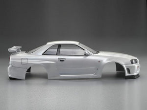 1/10 NISSAN SKYLINE (BNR34)  Finished Body Pearl-white