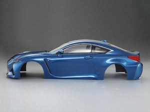 1/10 LEXUS RC F Finished Body Metallic-blue