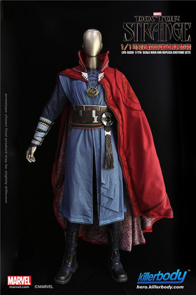 1:1 Doctor Strange Wearable Suit Marvel Licensed( In Stock now)