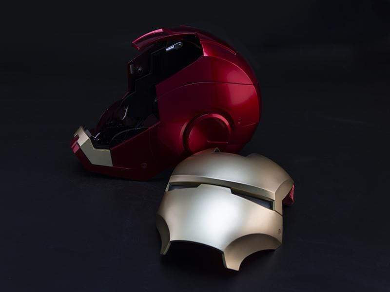 1:1 Iron Man MK7 Wearable Helmet Three Control Modes : Chinese Voice Control & Touch Control & Remote Control( Pre order)