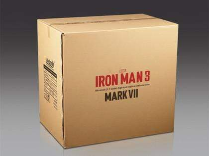 1:1 Iron Man MK7 Wearable Armour Finished Version Brushed Silvery( In stock now!)